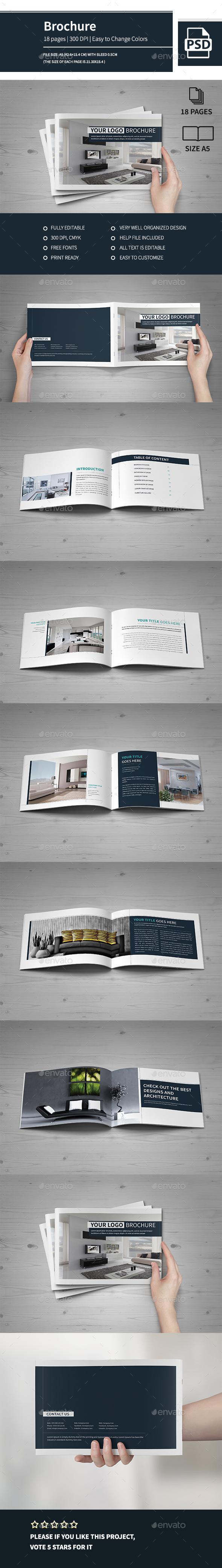 Multipurpose Modern A5 Catalogue Brochure 2016 - Catalogs Brochures