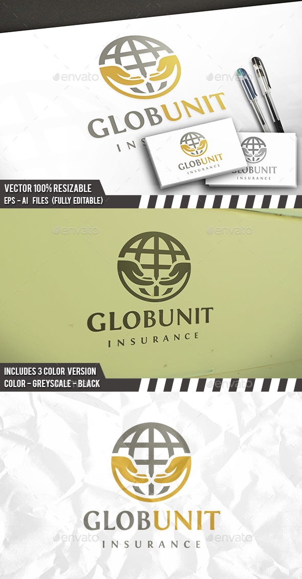 World Care Logo - Objects Logo Templates