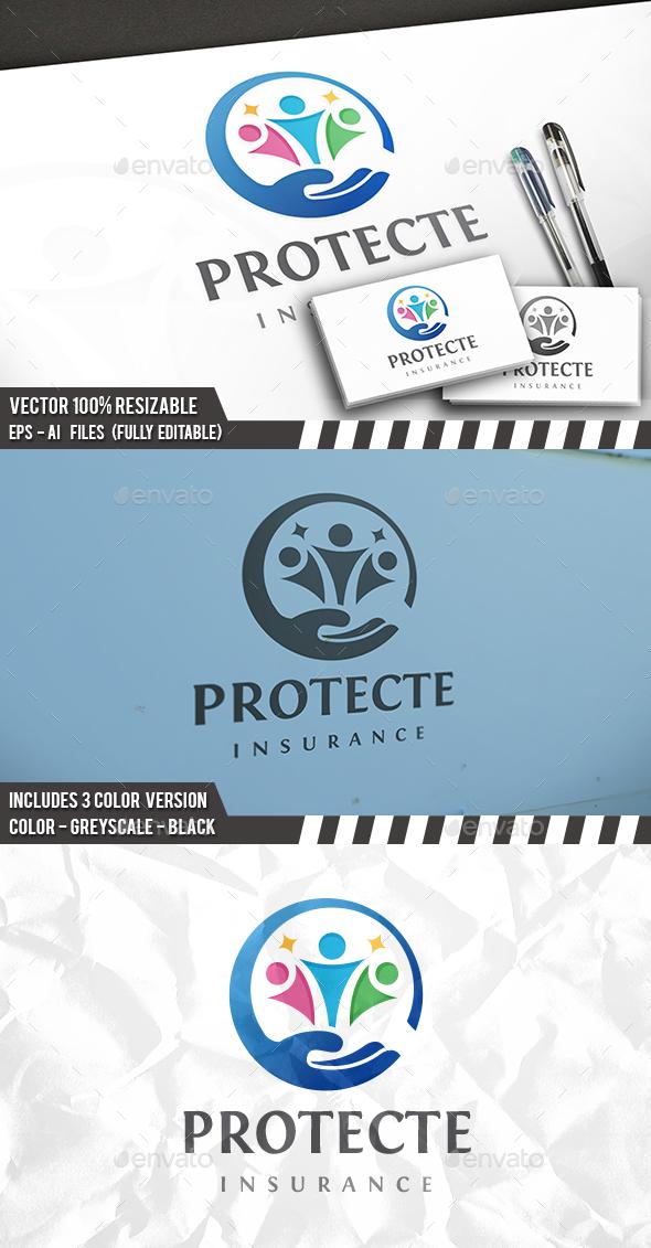 Human Protect Logo - Humans Logo Templates