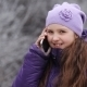 The Girl In a Winter Fur Cap Speaks By Phone - VideoHive Item for Sale