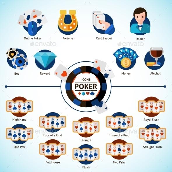 Poker Icons Set - Miscellaneous Vectors
