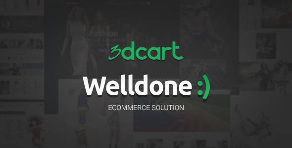 Download Welldone - 3Dcart theme nulled version