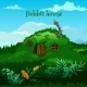 Drawn Fairy Hobbit House In The Meadow