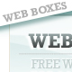 soft & corporate web 2.0 boxes - 2 color/size - GraphicRiver Item for Sale