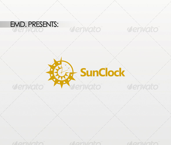 SunClock Logo - Symbols Logo Templates
