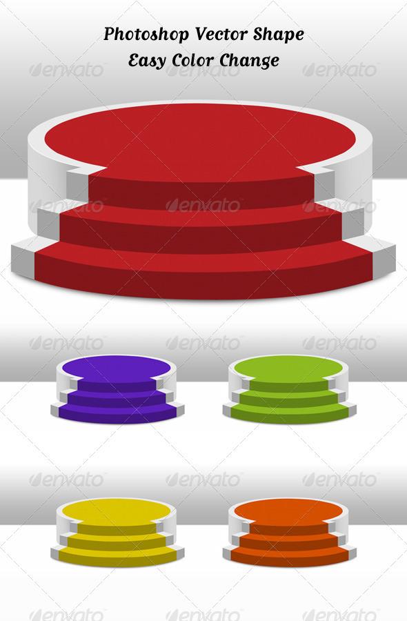 Podium - 3D Backgrounds