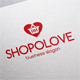 Shopping Love Cart Logo - GraphicRiver Item for Sale