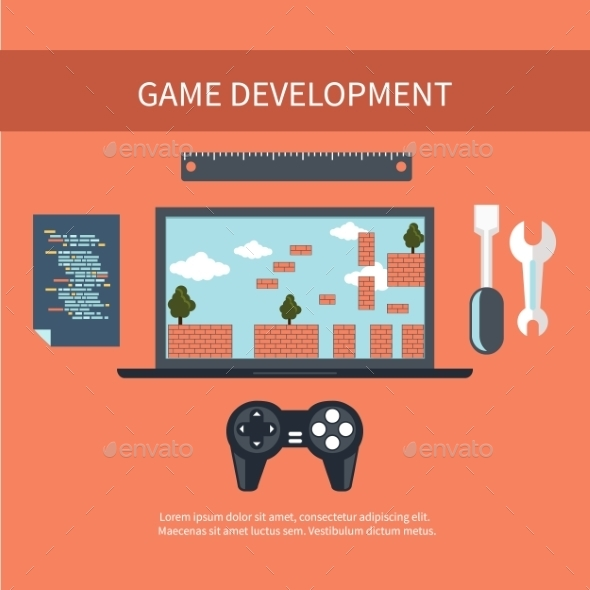 Game Development Concept - Technology Conceptual