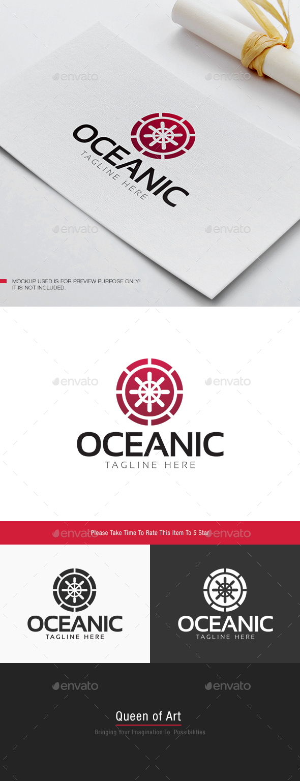 Oceanic Logo - Objects Logo Templates