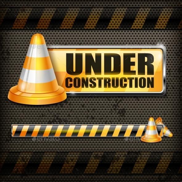 Under Construction Sign  - Miscellaneous Vectors