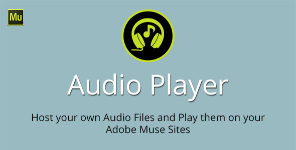 Audio Player Adobe Muse Widget - CodeCanyon Item for Sale