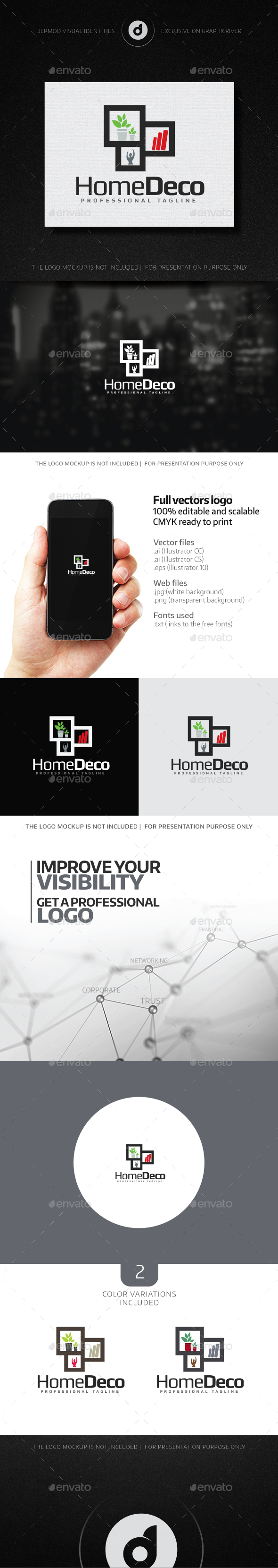 Home Deco Logo - Objects Logo Templates