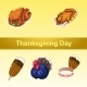 Symbolic Attributes Of a Holiday, Five Icons
