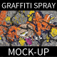 Old Graffiti Spray Paint Mock-up - GraphicRiver Item for Sale