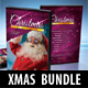 2 in 1 Merry Christmas CD and DVD Cover Bundle