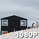 Speedy Penguin Colony at Antarctic Base - VideoHive Item for Sale