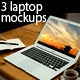 3 Laptop Mock-ups - GraphicRiver Item for Sale