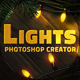 Christmas Lights Photoshop Creator - GraphicRiver Item for Sale