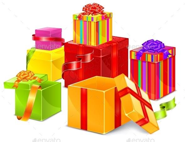 Color Boxes - Miscellaneous Vectors