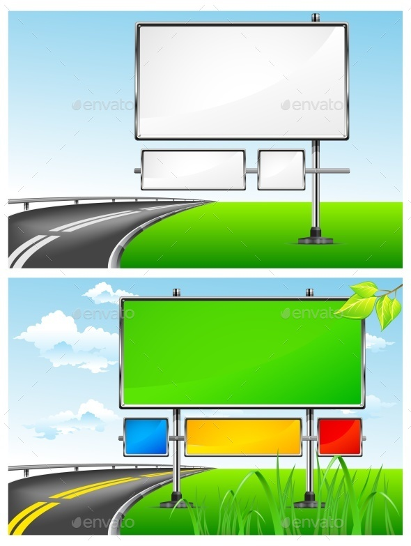 Highway Billboards  - Concepts Business