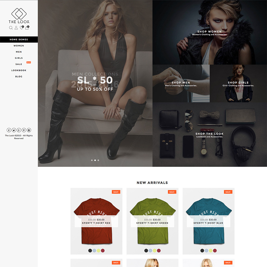 The Look - Clean, Responsive WooCommerce Theme by MagicalTheme ...