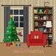 Christmas Room Interior - GraphicRiver Item for Sale