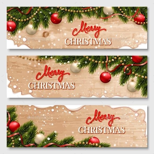 Chistmas Banners Set - Christmas Seasons/Holidays