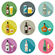 Beverages and Drinks Icons - GraphicRiver Item for Sale