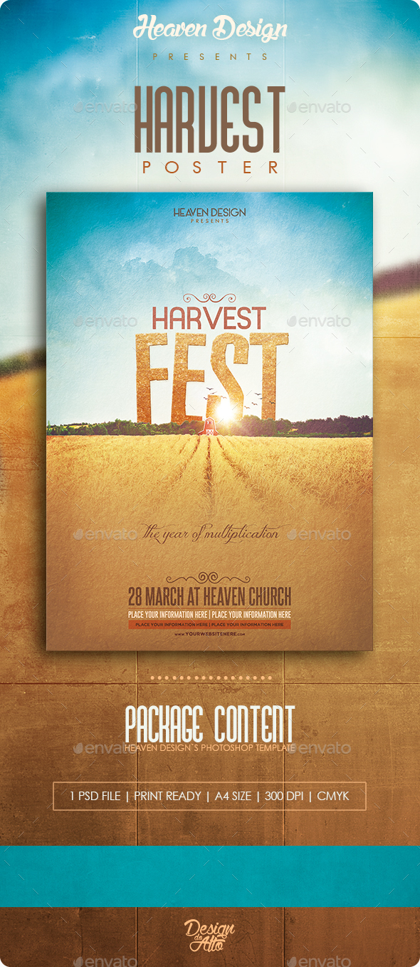 Harvest 2 | Poster - Events Flyers