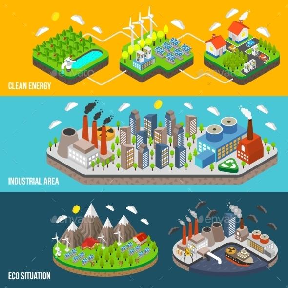 Eco Horizontal Banner - Miscellaneous Conceptual