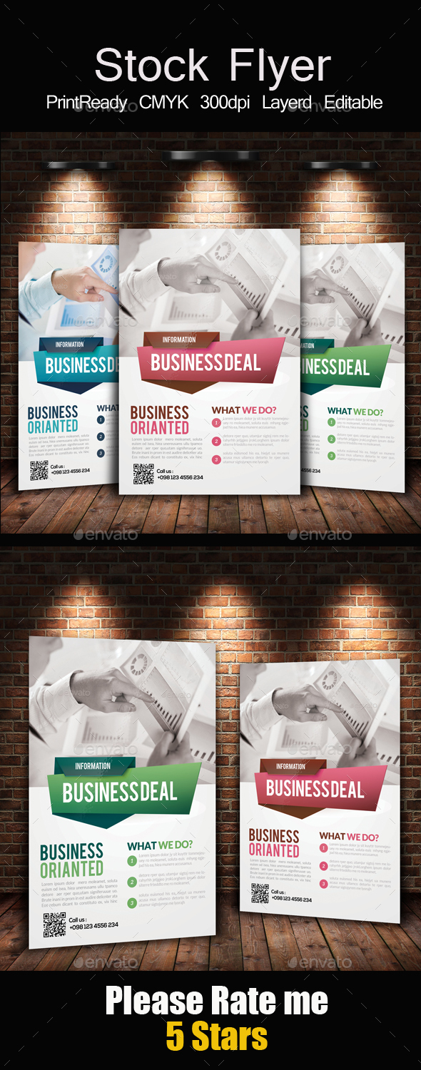 Stock Market Business Flyer - Corporate Flyers