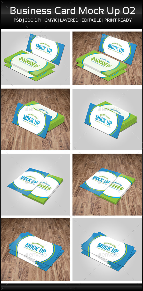 Business Card Mock Up 02 - Business Cards Print