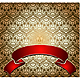 Red Banner Over Gold Wallpaper - GraphicRiver Item for Sale