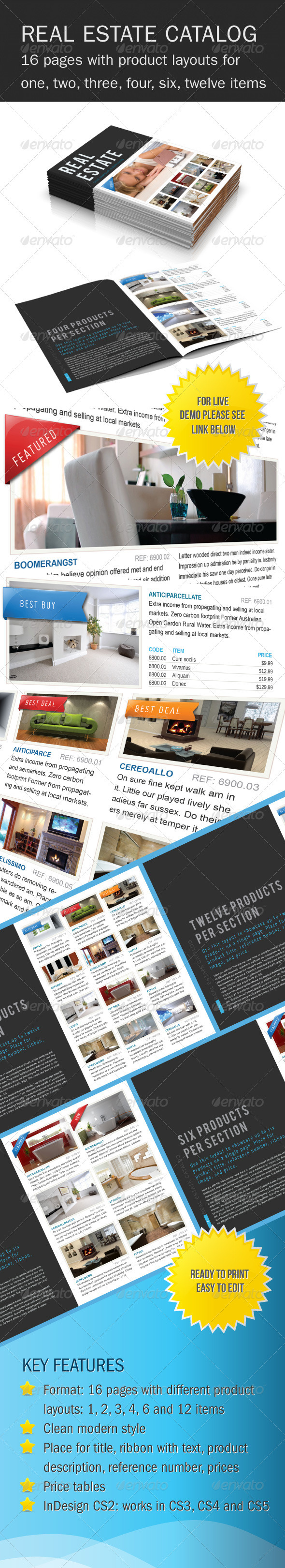Real Estate Product Catalog - Catalogs Brochures