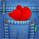Valentine Jeans Texture - GraphicRiver Item for Sale