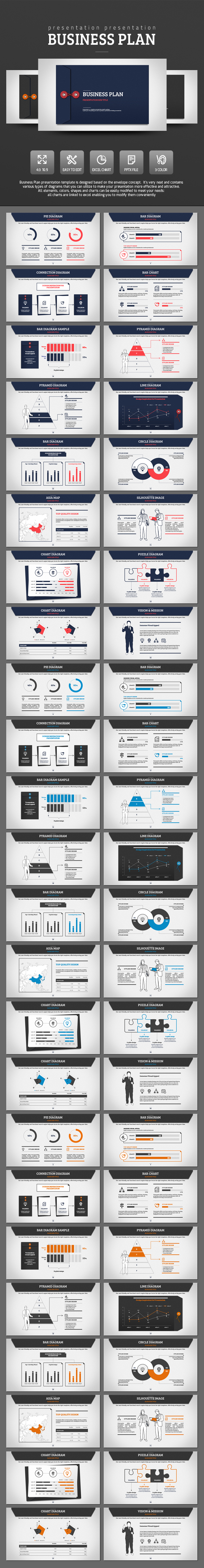 Business Plan - PowerPoint Templates Presentation Templates