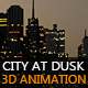 City At Dusk  - VideoHive Item for Sale