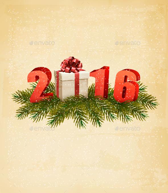 Holiday Christmas Background - New Year Seasons/Holidays