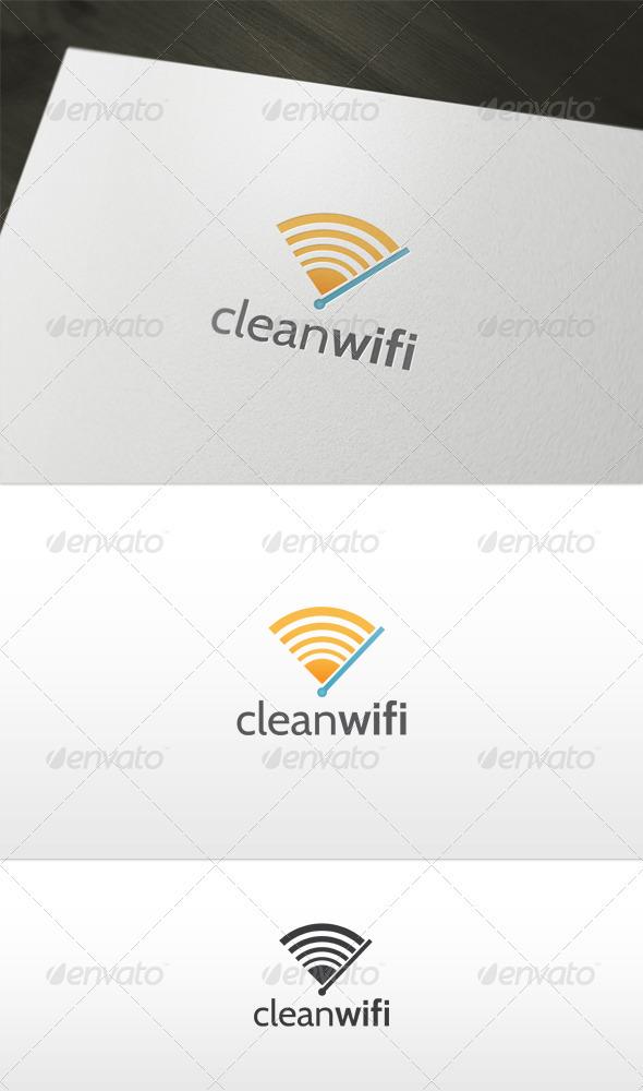Clean Wifi Logo - Symbols Logo Templates