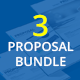 3 Proposal Bundle Template - GraphicRiver Item for Sale