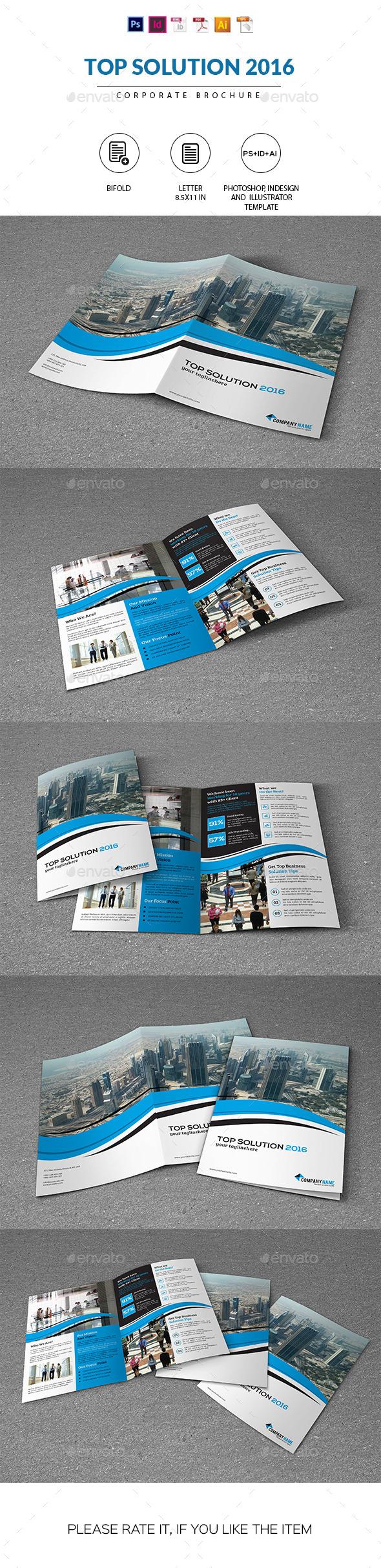 Corporate Brochure | Top Solution 2016 - Corporate Brochures