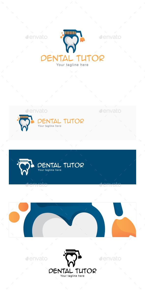 Dental Tutor  Stock Logo Template  - Objects Logo Templates