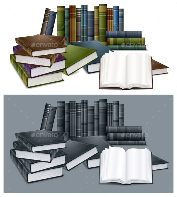 Library Books - Food Objects