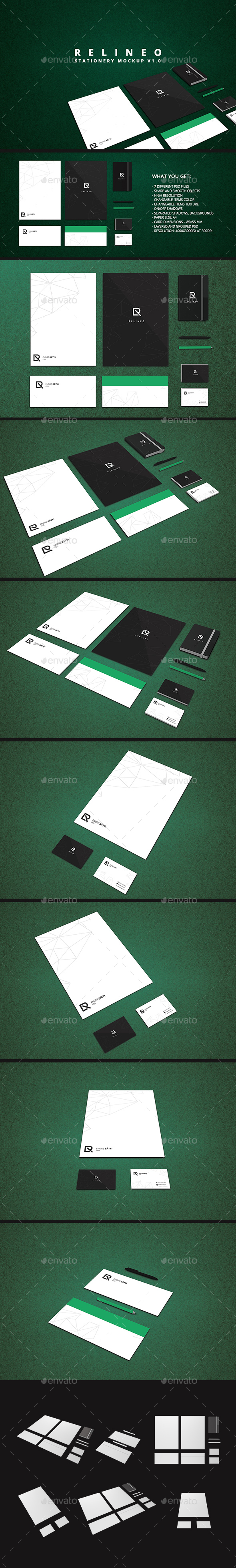 Stationery Mock-up Pack Vol.1 - Stationery Print