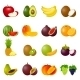 Icon Set Fruits - GraphicRiver Item for Sale
