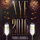 Minimal NYE Flyer Template - GraphicRiver Item for Sale