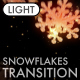 Cristmas Snowflakes Transition vol.1 - Light - VideoHive Item for Sale