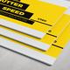 Shutter Speed 1/160 Portfolio Brochure