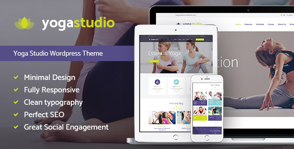 Yogastudio – Yoga, Gym and Healthcare WP Theme