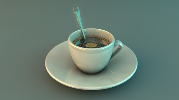 Cup of Coffee - 3DOcean Item for Sale